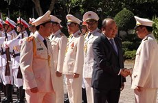Premier vietnamita elogia esfuerzos de la policía provincial de Dak Nong en mantenimiento de seguridad