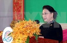 Reafirma presidenta del Parlamento de Vietnam respaldo a tema del Foro Asia-Pacífico