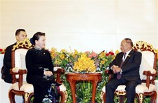 Presidenta parlamentaria vietnamita insta a concluir pronto demarcación fronteriza con Camboya