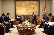 Recibe vicepremier vietnamita a presidente de Microsoft en Asia
