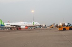 Despegó vuelo inaugural de aerolínea vietnamita Bamboo Airways