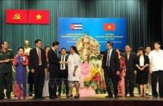 Conmemoran en Ciudad Ho Chi Minh aniversario 60 de la Revolución cubana