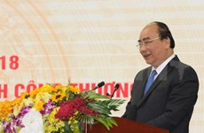 Subraya premier de Vietnam papel de comercio en fortalecimiento de economía nacional