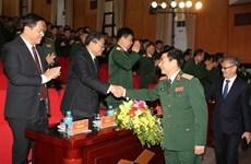 Conmemoran en Vietnam 70 aniversario de la fundación de las Fuerzas Armadas de Laos