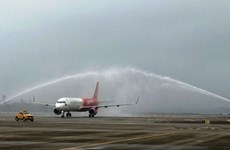 Aerolínea vietnamita Vietjet Air inaugura ruta doméstica Ciudad Ho Chi Minh - Van Don