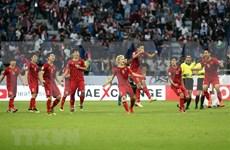 Resalta la prensa de Medio Oriente victoria del equipo vietnamita de fútbol en Copa Asiática-2019