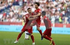 Elogia Premier vietnamita victoria del equipo del fútbol de su país en Copa Asiática 2019
