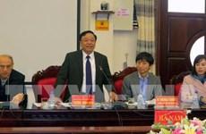 Empresas japonesas estudian entorno de inversión en provincia vietnamita de Ha Nam