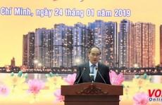 Reconocen autoridades de Ciudad Ho Chi Minh contribuciones a la Patria de vietnamitas en exterior