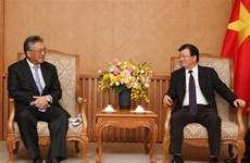 Resalta vicepremier de Vietnam cooperación económica con Japón