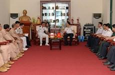 Visita Vietnam delegación de la Fuerza Marítima de Autodefensa de Japón