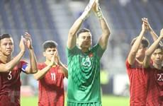 Eligen a dos vietnamitas en equipo de élite de cuartos de final de Copa Asiática