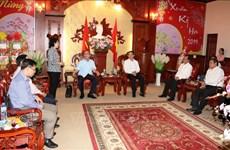 Autoridades de Ciudad Ho Chi Minh felicitan a provincia Tay Ninh por el Tet