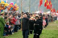 Efectuarán en provincia vietnamita de Bac Kan festival Long Tong de minorías étnicas