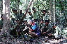 Rinden culto en Vietnam al dios de los bosques