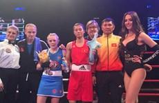 Boxeadora vietnamita gana el campeonato del torneo de boxeo de estrellas europeo – asiáticas