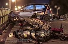 En seis días festivos, 112 muertos por accidentes de tráfico en Vietnam