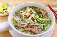 Pho Bo de Hanoi, tarjea de presentación de culinaria vietnamita en el mundo