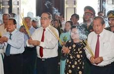 Honran en Vietnam tradiciones revolucionarias de zona Sai Gon- Cho Lon- Gia Dinh