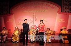 "Arte musical y vocal ""Đờn ca tài tử"" del sur de Viet Nam"