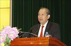 Vicepremier vietnamita insta a la Auditoría Estatal a optimizar sus funciones en 2019