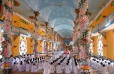 Creyentes del Caodaismo de provincia sureña de Tay Ninh recuerdan tradiciones nacionales