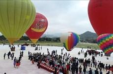 Inauguran en provincia vietnamita Festival Internacional del Aerostato en Día de los Enamorados