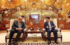 Hanoi facilita proyectos de cooperación de empresas belgas