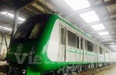 Primer tren elevado en Hanoi entrará en operación oficial en abril