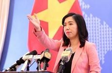 Vietnam insta a respetar y cumplir el derecho internacional en zonas marítimas