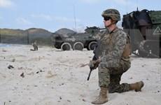 Realizan Estados Unidos, Tailandia y Corea del Sur ejercicio de asalto anfibio