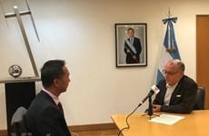 Califica canciller argentino a Vietnam como un importante socio económico