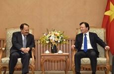 Respalda Vicepremier de Vietnam acuerdo de cooperación energética con Laos