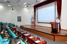 Revisa Vietnam preparación de fuerza de zapadores para misiones de paz