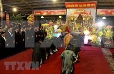 Celebran en Vietnam Festival del Templo Tran de Thai Binh