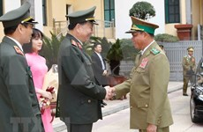 Fortalecen nexos entre Vietnam y Laos en seguridad pública