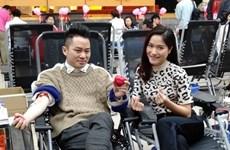 Vicepresidenta vietnamita inicia festival de donación de sangre