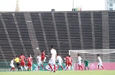 El sueño de selección vietnamita termina en semifinales del Campeonato regional de fútbol sub 22