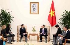 Recibe vicepremier vietnamita al presidente de la empresa AEON