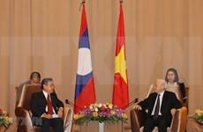 Concluye máximo dirigente vietnamita visita oficial a Laos