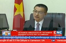 Cooperación económica impulsará el desarrollo de los nexos Vietnam- Camboya
