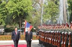 Envía máximo dirigente de Vietnam carta de agradecimiento a su homólogo laosiano