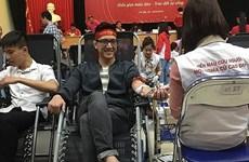 Duplican en Vietnam donaciones de sangre durante Festival Primavera Roja de Hanoi