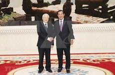 Trabajan Vietnam y Camboya para vigorizar cooperación multifacética bilateral