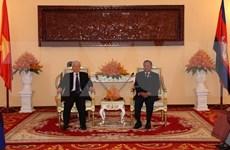 Máximo dirigente vietnamita reitera prioridad a nexos con Camboya