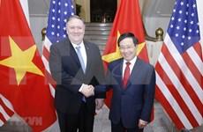 Estados Unidos atesora asociación integral con Vietnam, afirma Mike Pompeo