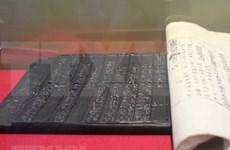 Exhiben en Hanoi grabados xilográficos de dinastía vietnamita
