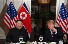Presidente estadounidense Donald Trump se reúne con líder norcoreano Kim Jong-un