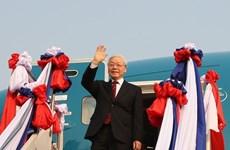 Impulsó gira del máximo dirigente de Vietnam por Laos y Camboya relaciones con ambos países
