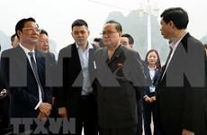 Delegación de alto nivel de Corea del Norte visita Bahía de Ha Long